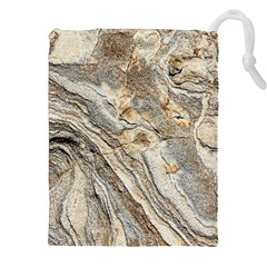 Background Structure Abstract Grain Marble Texture Drawstring Pouches (xxl) by Nexatart