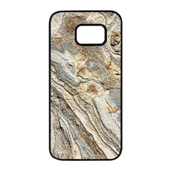 Background Structure Abstract Grain Marble Texture Samsung Galaxy S7 Edge Black Seamless Case