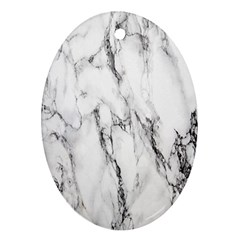 Marble Granite Pattern And Texture Ornament (oval) by Nexatart