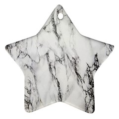 Marble Granite Pattern And Texture Ornament (star)
