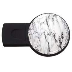 Marble Granite Pattern And Texture Usb Flash Drive Round (2 Gb) by Nexatart
