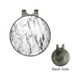 Marble Granite Pattern And Texture Hat Clips With Golf Markers by Nexatart