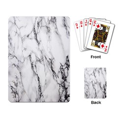 Marble Granite Pattern And Texture Playing Card by Nexatart
