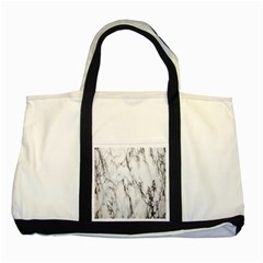 Marble Granite Pattern And Texture Two Tone Tote Bag by Nexatart