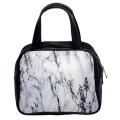 Marble Granite Pattern And Texture Classic Handbags (2 Sides) by Nexatart