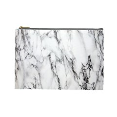 Marble Granite Pattern And Texture Cosmetic Bag (large)