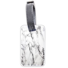 Marble Granite Pattern And Texture Luggage Tags (one Side)  by Nexatart