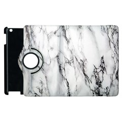 Marble Granite Pattern And Texture Apple Ipad 3/4 Flip 360 Case by Nexatart