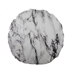 Marble Granite Pattern And Texture Standard 15  Premium Round Cushions by Nexatart