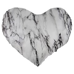 Marble Granite Pattern And Texture Large 19  Premium Heart Shape Cushions by Nexatart