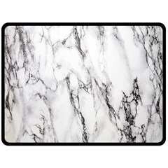 Marble Granite Pattern And Texture Double Sided Fleece Blanket (large)  by Nexatart