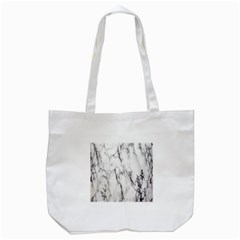 Marble Granite Pattern And Texture Tote Bag (white) by Nexatart