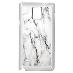 Marble Granite Pattern And Texture Samsung Galaxy Note 4 Case (white) by Nexatart