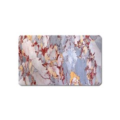 Marble Pattern Magnet (name Card) by Nexatart