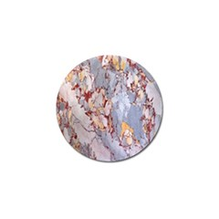 Marble Pattern Golf Ball Marker (4 Pack) by Nexatart