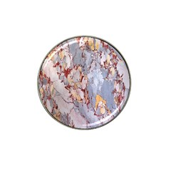 Marble Pattern Hat Clip Ball Marker (10 Pack)
