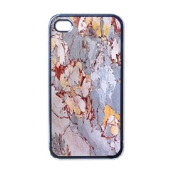 Marble Pattern Apple Iphone 4 Case (black) by Nexatart