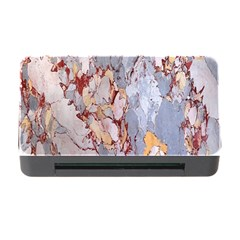 Marble Pattern Memory Card Reader With Cf by Nexatart