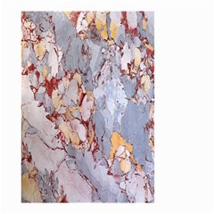 Marble Pattern Small Garden Flag (two Sides) by Nexatart