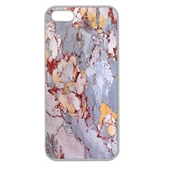 Marble Pattern Apple Seamless Iphone 5 Case (clear)