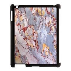 Marble Pattern Apple Ipad 3/4 Case (black)