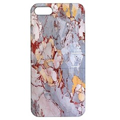 Marble Pattern Apple Iphone 5 Hardshell Case With Stand by Nexatart