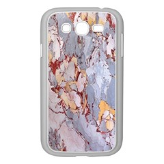 Marble Pattern Samsung Galaxy Grand Duos I9082 Case (white) by Nexatart