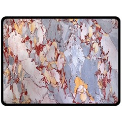 Marble Pattern Double Sided Fleece Blanket (large)  by Nexatart