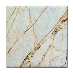 Marble Texture White Pattern Surface Effect Tile Coasters by Nexatart