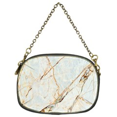 Marble Texture White Pattern Surface Effect Chain Purses (one Side)