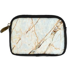 Marble Texture White Pattern Surface Effect Digital Camera Cases by Nexatart