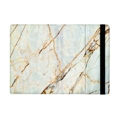 Marble Texture White Pattern Surface Effect Apple Ipad Mini Flip Case