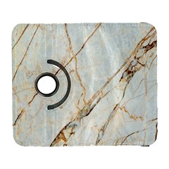 Marble Texture White Pattern Surface Effect Galaxy S3 (flip/folio) by Nexatart
