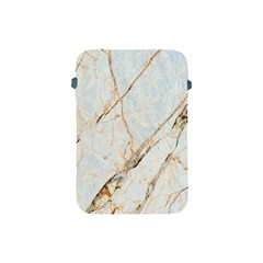 Marble Texture White Pattern Surface Effect Apple Ipad Mini Protective Soft Cases