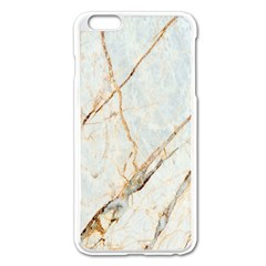 Marble Texture White Pattern Surface Effect Apple Iphone 6 Plus/6s Plus Enamel White Case