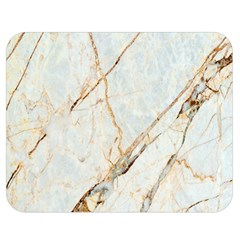 Marble Texture White Pattern Surface Effect Double Sided Flano Blanket (medium)  by Nexatart