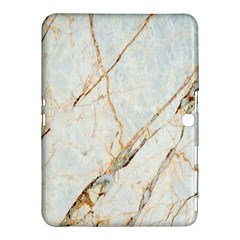 Marble Texture White Pattern Surface Effect Samsung Galaxy Tab 4 (10 1 ) Hardshell Case