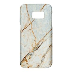 Marble Texture White Pattern Surface Effect Samsung Galaxy S7 Hardshell Case