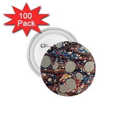 Marbling 1 75  Buttons (100 Pack)  by Nexatart