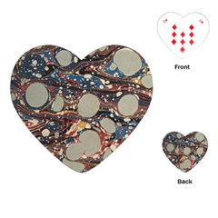 Marbling Playing Cards (heart)