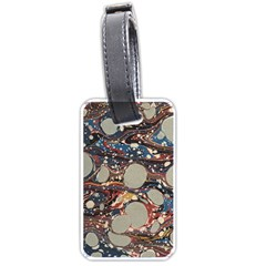 Marbling Luggage Tags (two Sides)