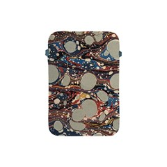 Marbling Apple Ipad Mini Protective Soft Cases by Nexatart