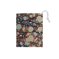 Marbling Drawstring Pouches (small)