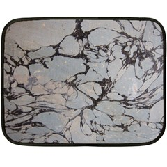 Slate Marble Texture Double Sided Fleece Blanket (mini)  by Nexatart