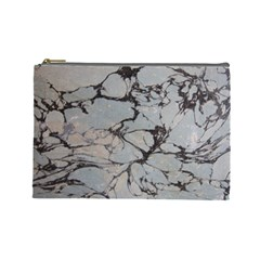 Slate Marble Texture Cosmetic Bag (large)  by Nexatart