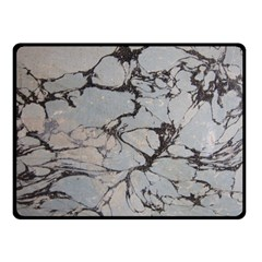Slate Marble Texture Fleece Blanket (small)