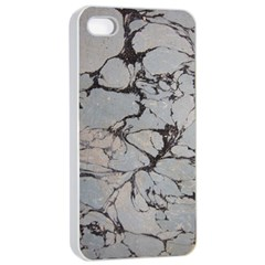 Slate Marble Texture Apple Iphone 4/4s Seamless Case (white) by Nexatart