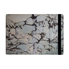 Slate Marble Texture Apple Ipad Mini Flip Case