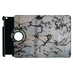 Slate Marble Texture Apple Ipad 2 Flip 360 Case