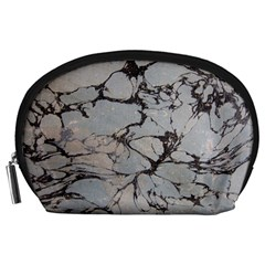 Slate Marble Texture Accessory Pouches (large)